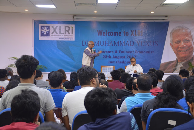 XLRI Holds Interactive Session with Dr.  Muhammad Yunus