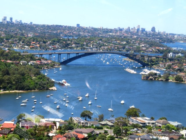 Gladesville Bridge from above