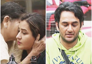 Vikas and Shilpa shed tears seeing her mom in the house