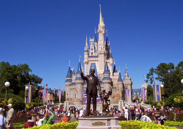 Parque Magic Kingdom na Disney em Orlando
