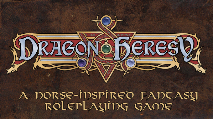 Tenkars tavern 2018 the dragon heresy introductory set fantasy rpg explore and conquer in a norse inspired land with dragon heresy with modified 5e rules in the dragon fandeluxe Gallery