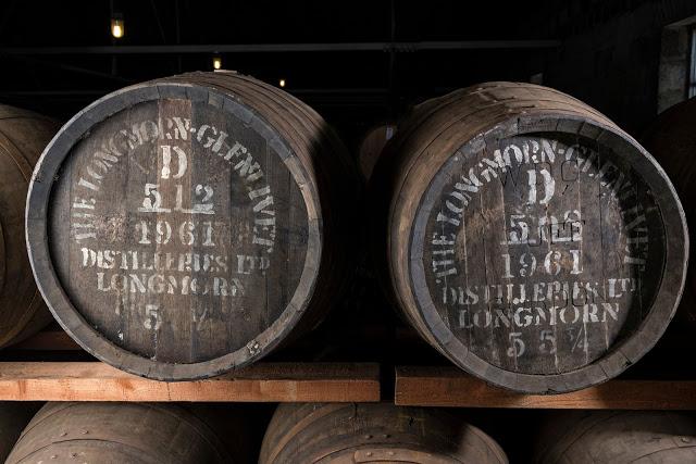 Longmorn 1961 cask #508 & cask #512