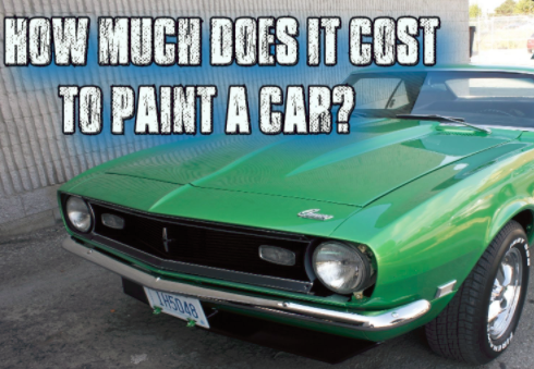 Cost To Paint A Car >> How Much Does It Cost To Repaint A Car