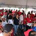Sindicatos e Partidos Políticos Realizam Ato Pró-Lula Durante Feira Livre em Nova Cruz