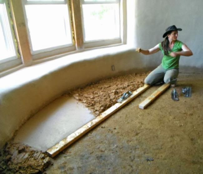 Flooring For Dirt Floor: Build Naturally...Blog: Adobe Floor Basics