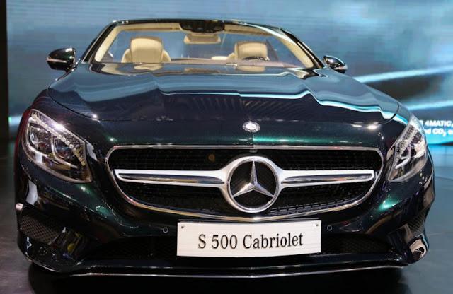 Ngoại thất Mercedes S500 Cabriolet thiết kế góc cạnh, đẳng cấp số 1 thế giới