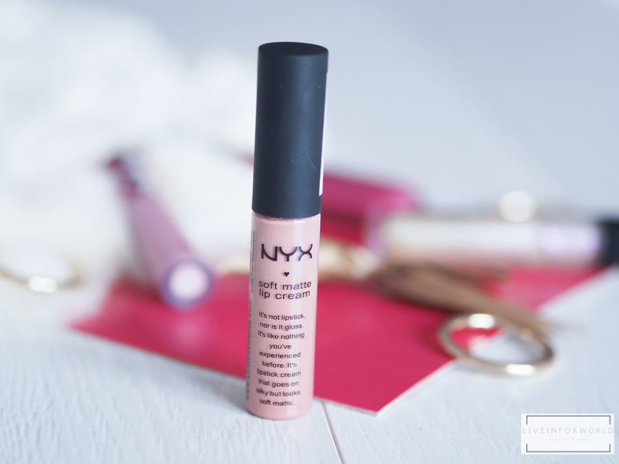 NYX SOFT MATTE LIP CREAM 02 Stockholm