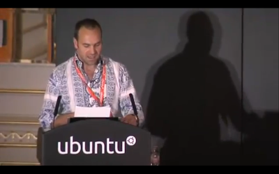 Mark Shuttleworth UDS 2011