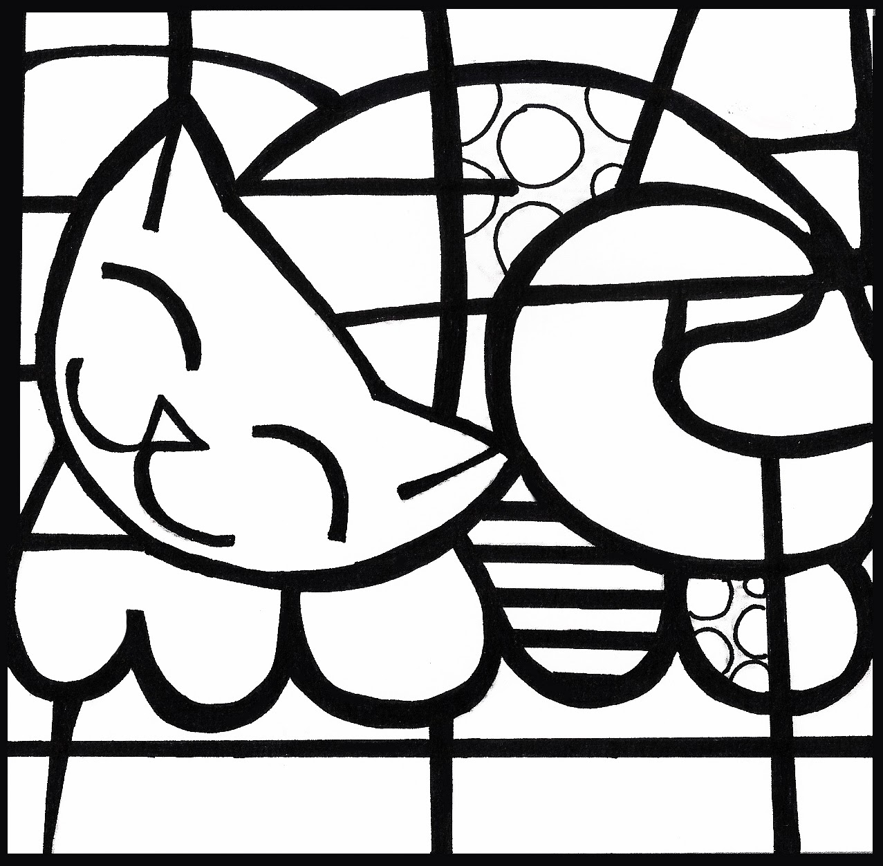 Pop art coloring sheets coloring pages for Roy lichtenstein coloring pages