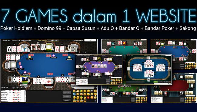 BANDAR757 Agen Sakong Judi BandarQ Domino99 Bandar Poker Online Terpercaya