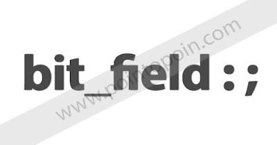 Bit Fields Pada Bahasa Pemrograman C