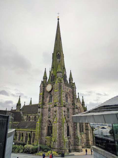 St. Martin's on the Bullring in Birmingham England