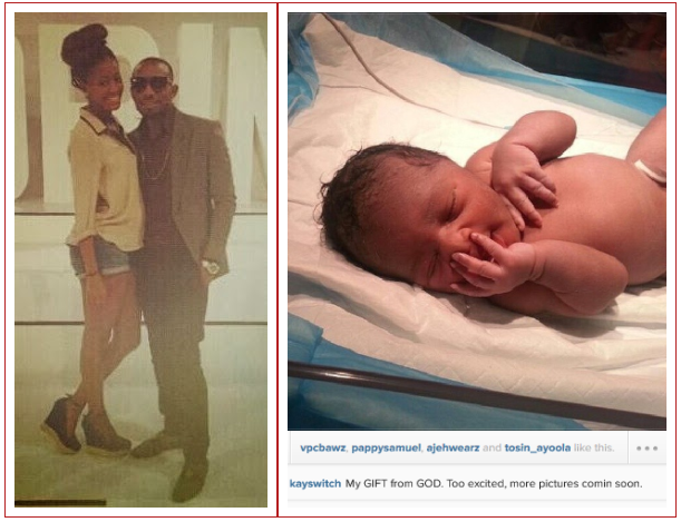 PHOTO - Dbanj's Younger Brother Is Now A Proud Father, Welcomes Baby With Girlfriend