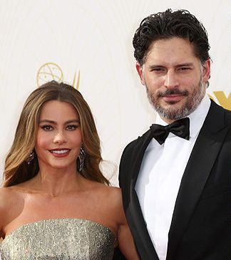 The new bridal couple, Mr. and Mrs. Joe Manganiello