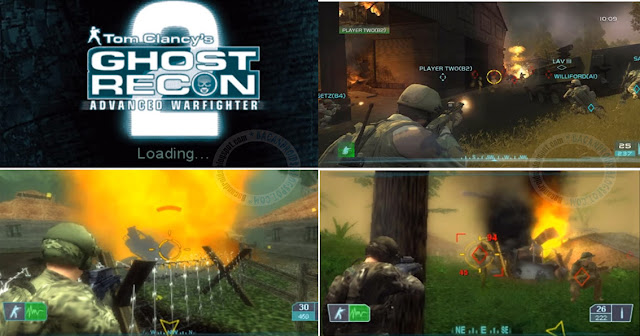 tom Clancys Ghost Recon 2 ISO High Compress PPSSPP