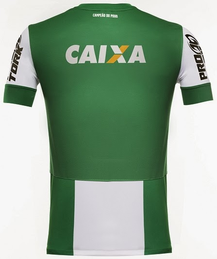 fec9c5d3a71 Coritiba lança sua nova camisa reserva - Show de Camisas