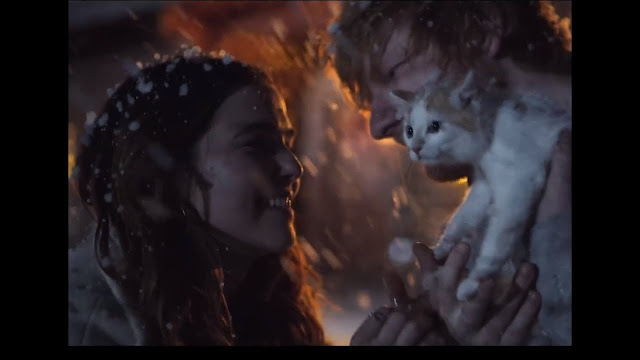"Ed Sheeran Premieres ""Perfect"" Music Video"