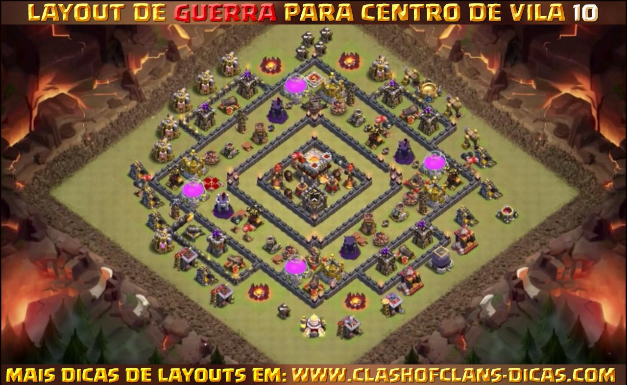 layouts para cv10 em guerra