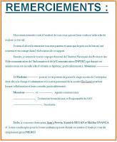 4 exemples de remerciement rapport de stage.doc | Cours ...