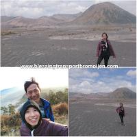 Chloe-single traveler (SG), transport Surabaya to Bromo. Sept 22th-24th, 2017.