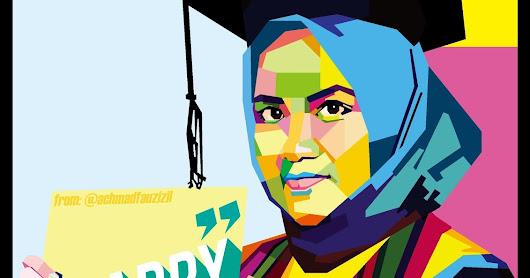 WPAP / SILUET / REALIS / HANDWRITTING FOR GRADUATION WISUDA