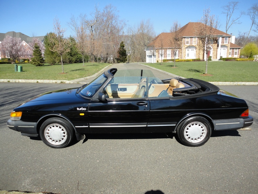 daily turismo 1988 saab 900 turbo convertible. Black Bedroom Furniture Sets. Home Design Ideas