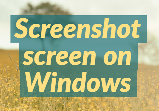 learn Screenshot of Windows 10 tutorials with Keyboard
