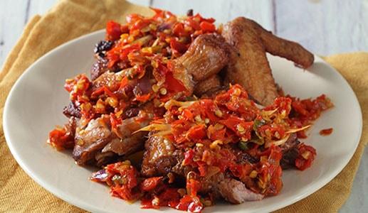 Resep Goreng Ayam Sambal Terasi Maknyus