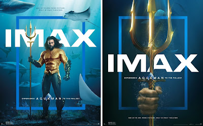 DC Comics' Aquaman Theatrical One Sheet IMAX Movie Posters