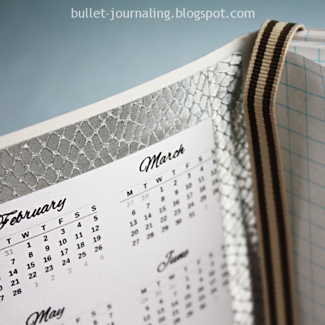 Photo: Bullet journal freebies - free printable calendar 2017