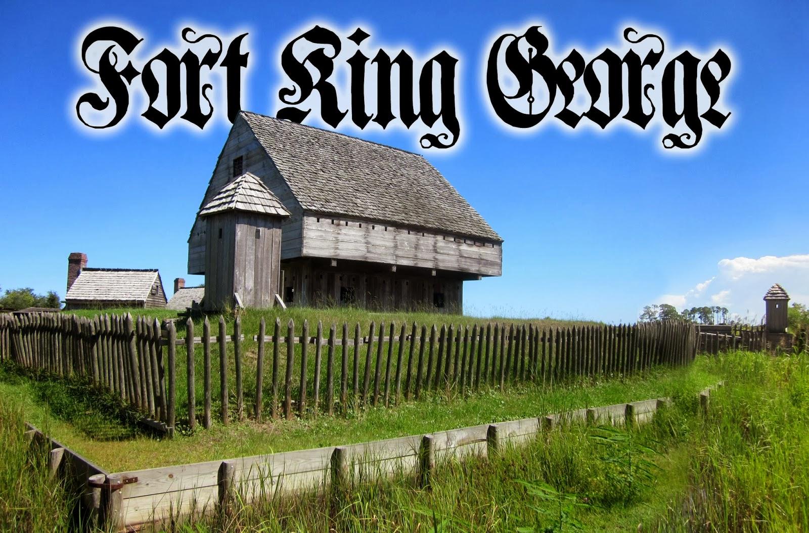 Battleground Hobbies: Black Powder Era Fort King George: For your