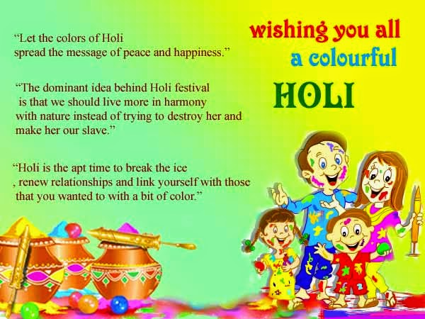 happy holi celebration
