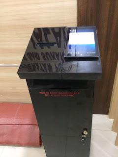 box mesin tiket antrian