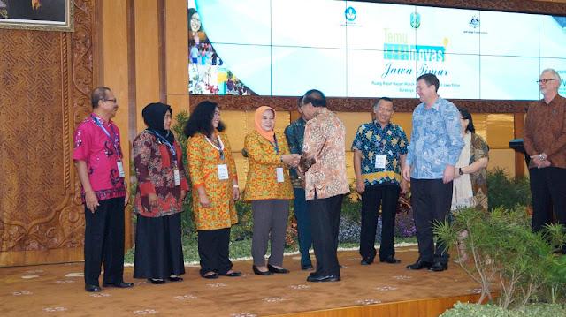 Gubernur Jawa Timur Soekarwo Dukung Penuh Program Pendidikan INOVASI