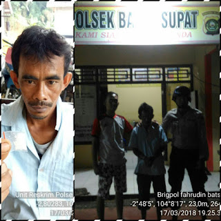 Miliki Narkoba, Abdul Lamana Diringkus Polsek Babat Supat