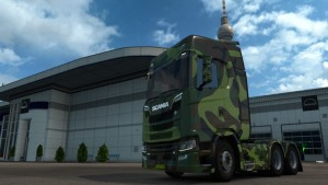 Army Skin for Scania S