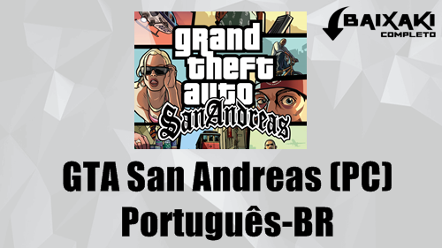 GTA San Andreas PC em Português-BR