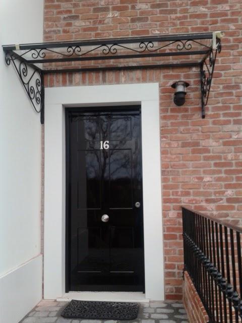 Marquesinas para puertas baratas com marquesina for Puertas entrada baratas