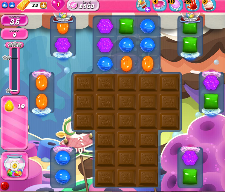 Candy Crush Saga level 2563