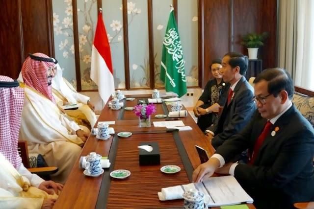 MoU Kerja Sama RI-Arab Saudi yang Ditandatangani di Istana Bogor