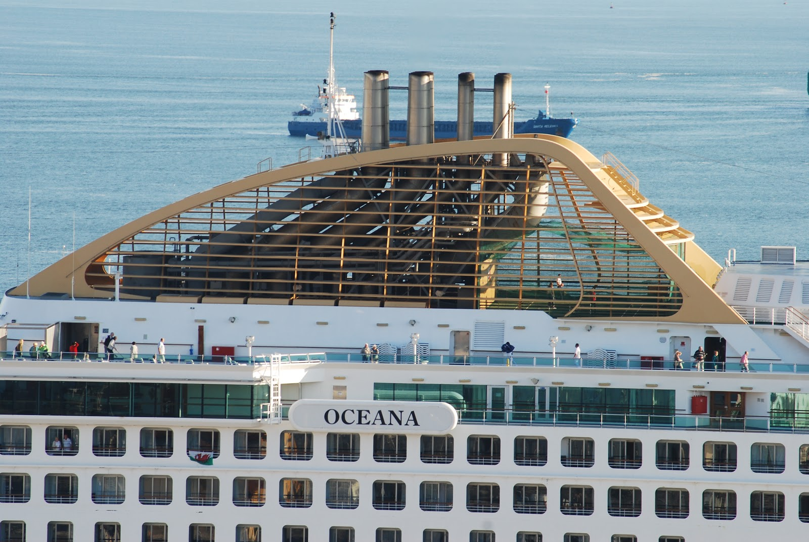 NAVIGATIONCruising And Maritime Themes Cruise Ship OCEANA At Lisbon - Lisbon cruise ship port