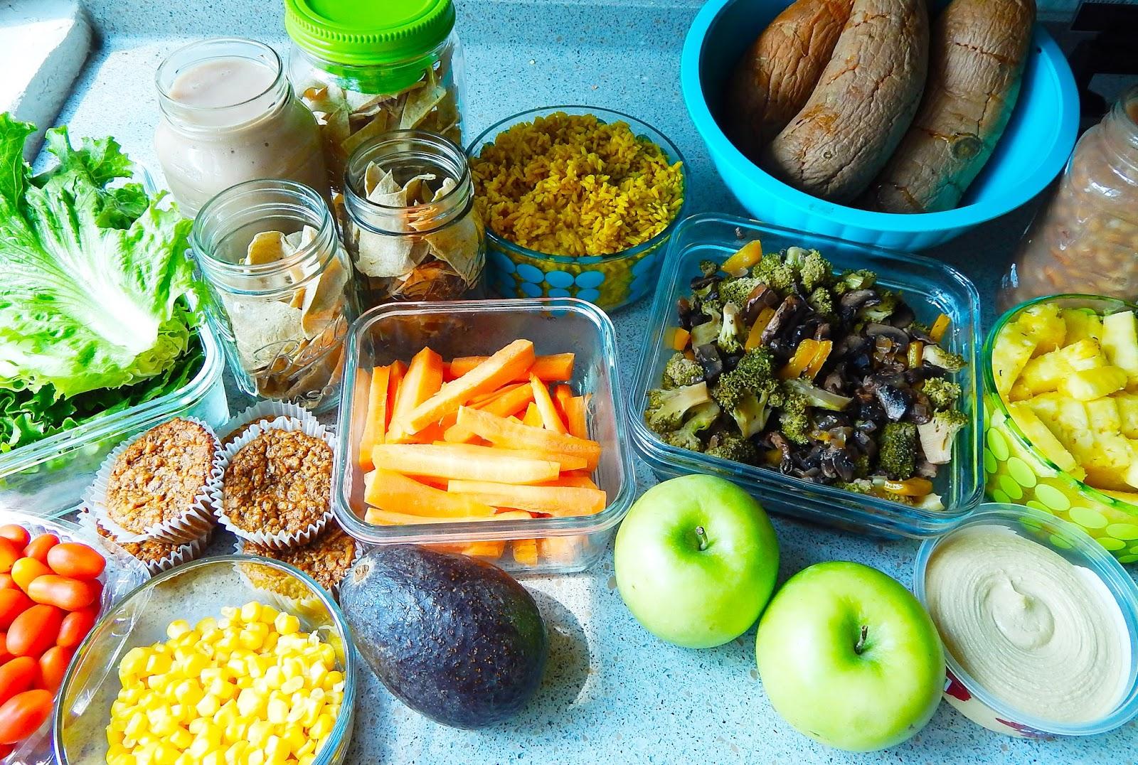 Menú Vegano semanal · FITVEGAN