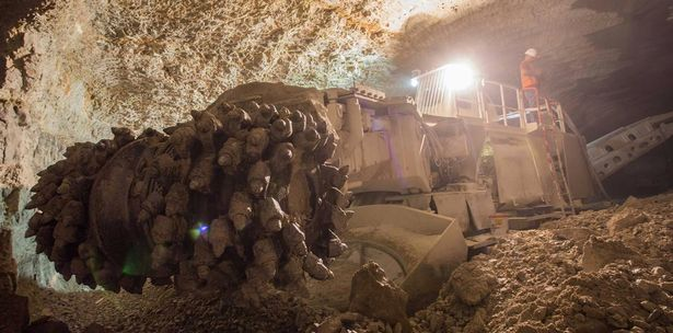 City of the dead: An underground catacombs being built in Jerusalem