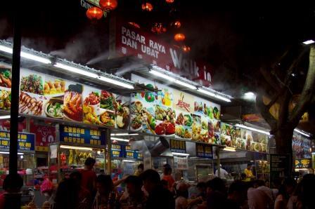 Objek Wisata Favorit di Kuala Lumpur Malaysia Street Food