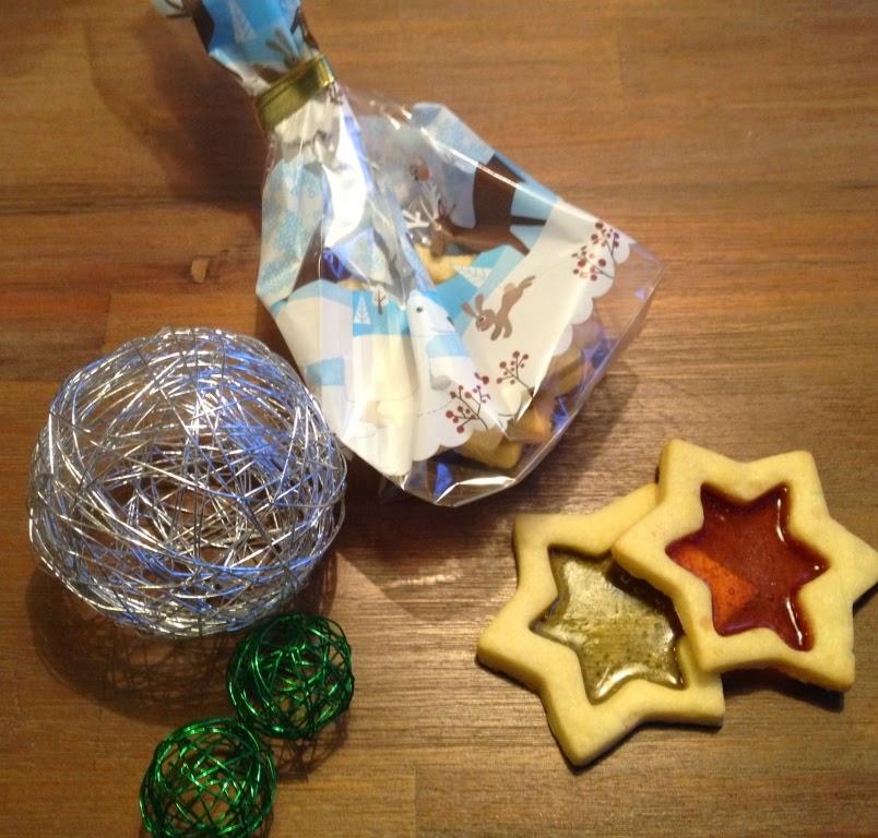 Culi cadeau glas-in-lood koekjes