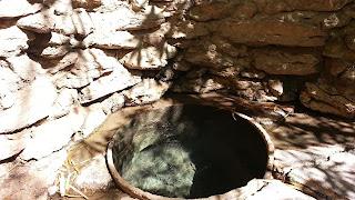 poço de águas termais