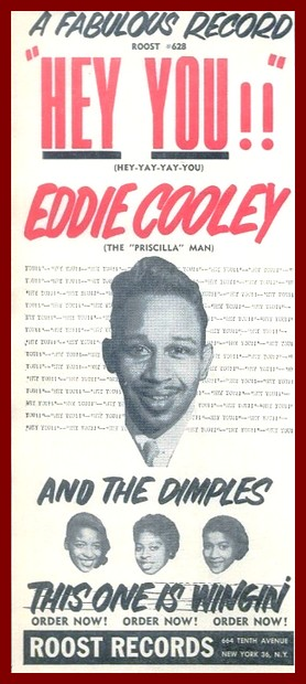 SIXTIES BEAT: Eddie Cooley & The Dimples