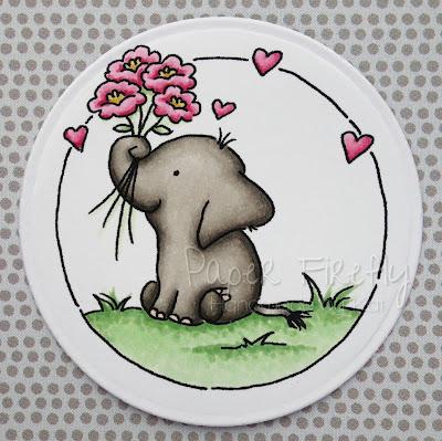 LOTV elephant trio stamps