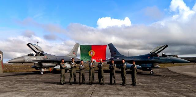 Portugal vai submeter parte de sua frota de F-16 a um programa de Upgrade
