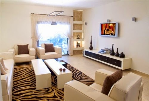 sala estilo animal print